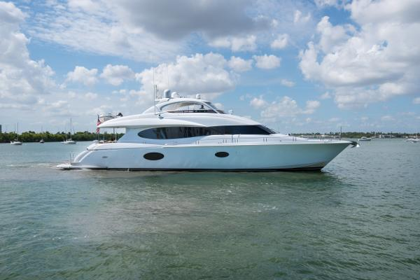Lazzara Yachts Open Bridge Hard Top