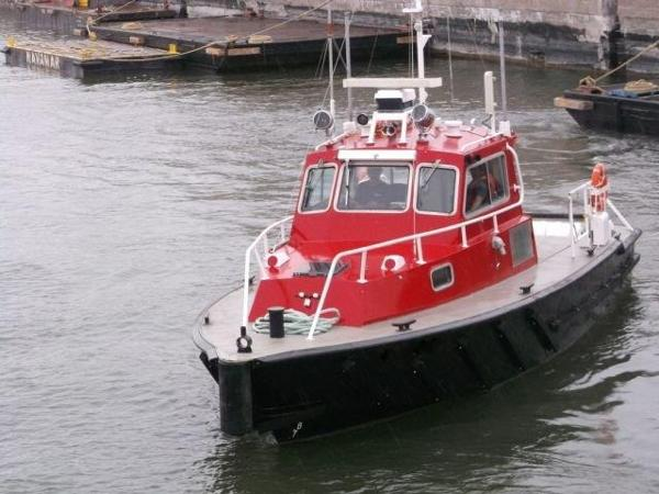 Custom Twin Screw Aluminum Work/Tug/Pilot Boat