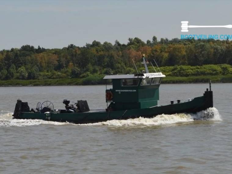 Meiderichen Schiffswerft Meiderichen Duitsland Duwboot Werkboot