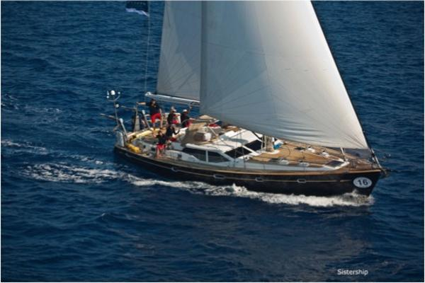 Oyster 56 Deck Saloon