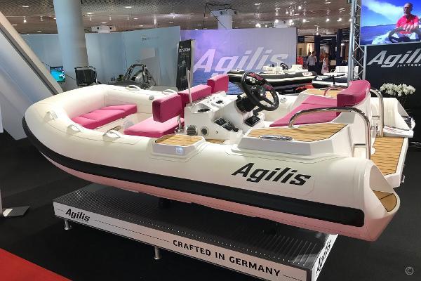 Agilis 330 90Hp Jet Tender