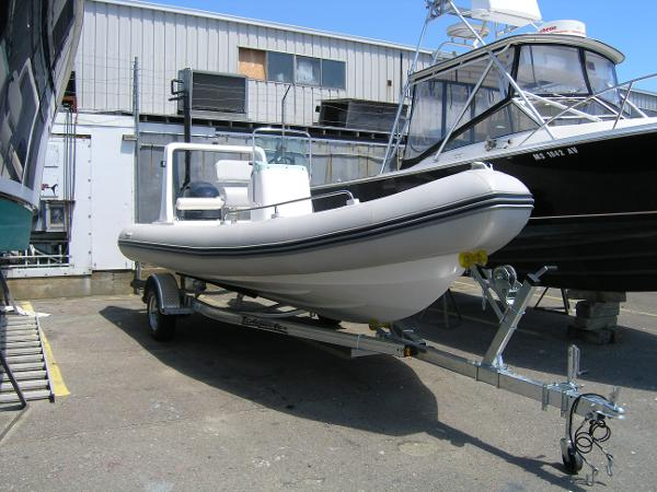 North Atlantic Inflatables 21 RIB