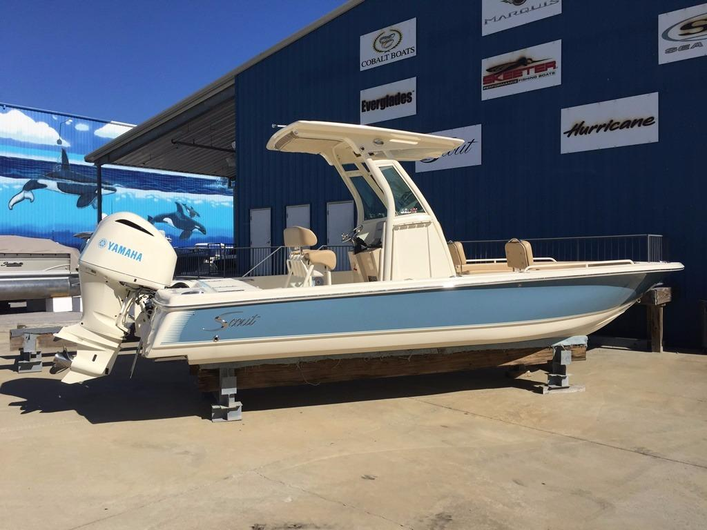 Scout Boat Company Bay Boats 251 XS