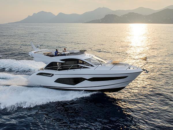 Sunseeker Manhattan 55 Barca in Navigazione