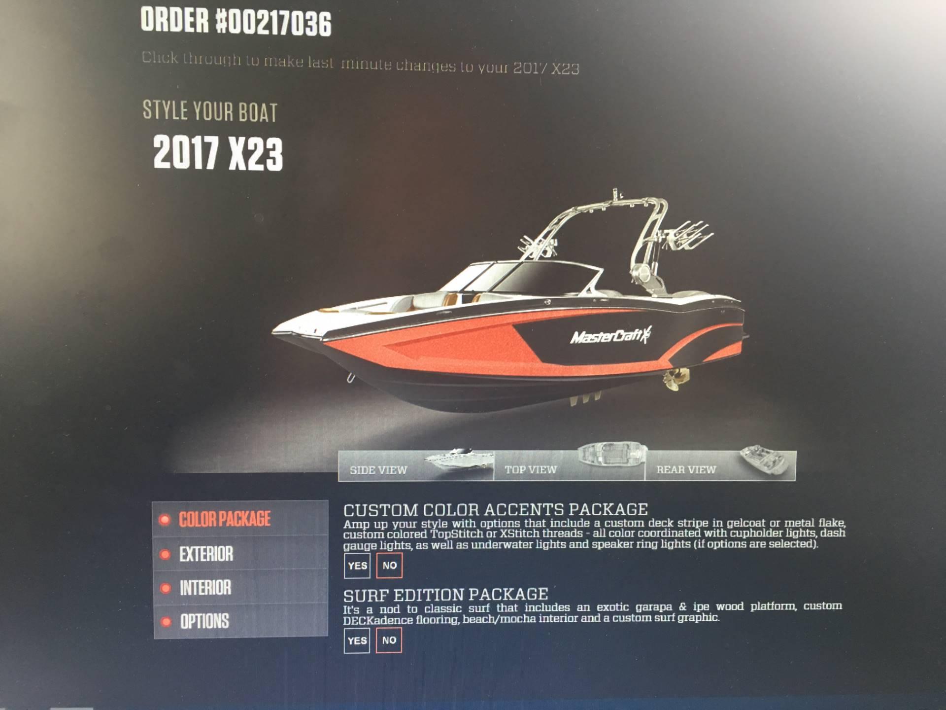 Mastercraft X23