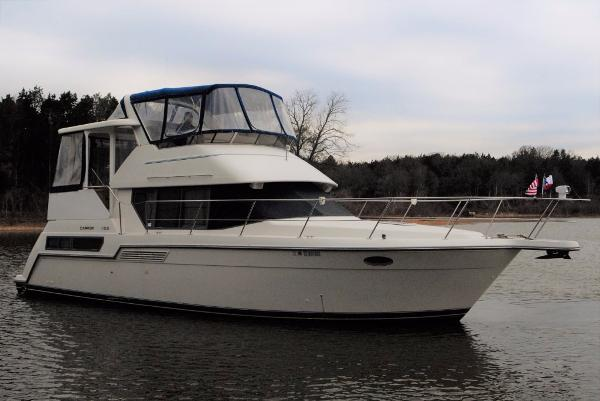 Carver 355 Aft Cabin Stb. Profile