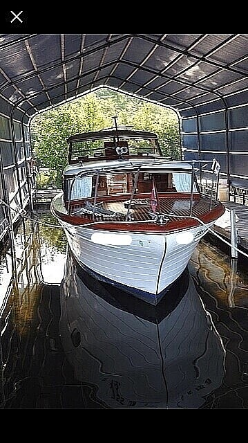 Chris-Craft Constellation 34 1956 Chris-Craft Constellation 34 for sale in Pequot Lakes, MN