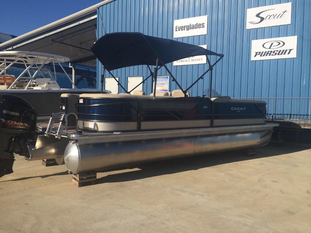 Crest Pontoon Boats 250 SLC CLASSIC