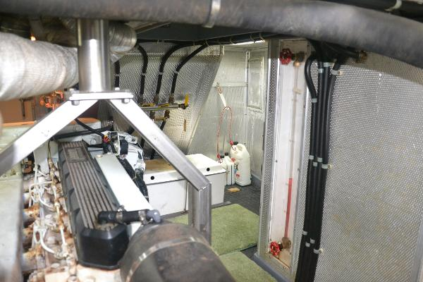 Engine room looking fwd to stbd
