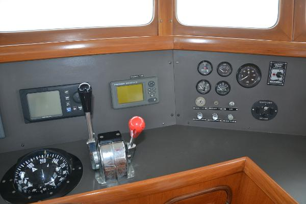Stbd Pilothouse panel