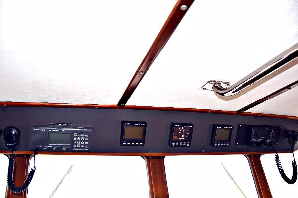Pilothouse overhead panel