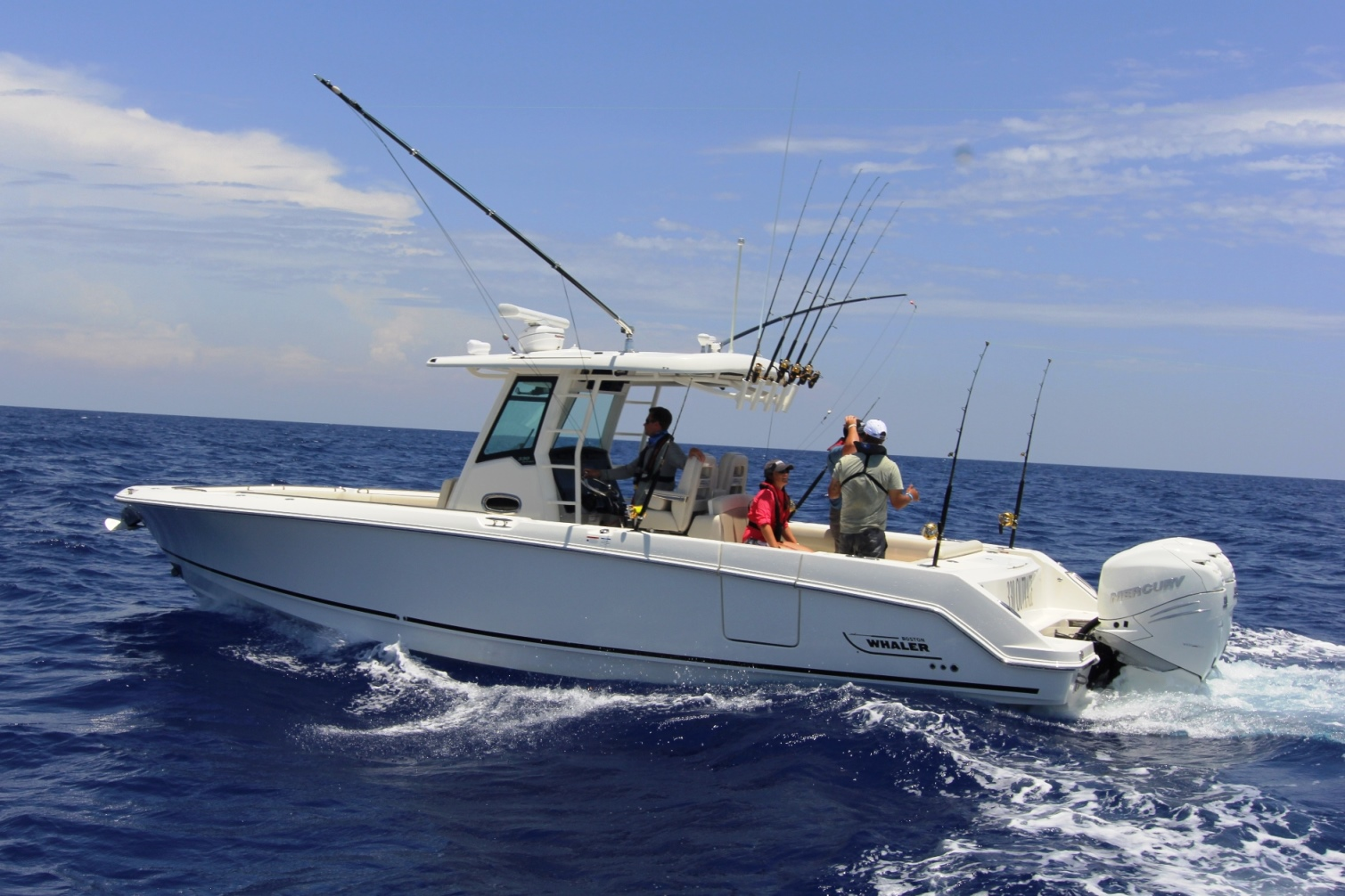 Boston Whaler 330 Outrage Sister ship