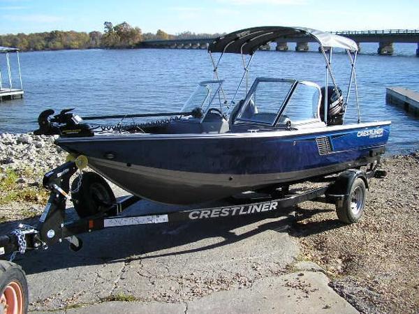 2017 Crestliner 1750 Fish Hawk
