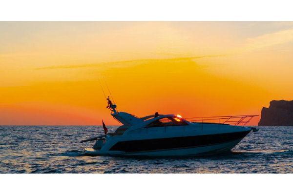 Fairline Targa 38 At Sunset