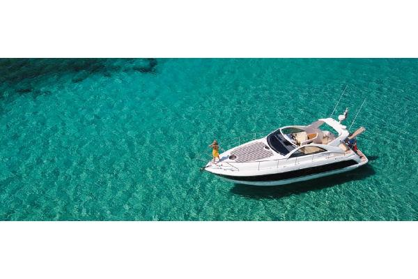 Fairline Targa 38 Open Aerial Shot