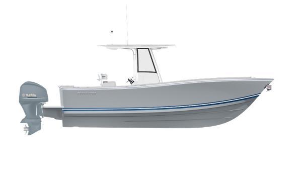 Regulator 25 2020 25 - STORM GREY with Navy.White.Navy Boot Stripe