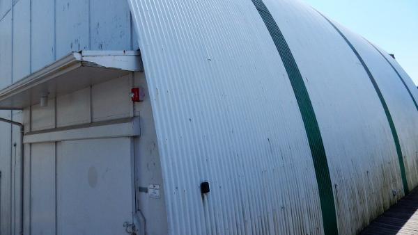 Custom Boathouse Quonset Hut with Translucent Panels