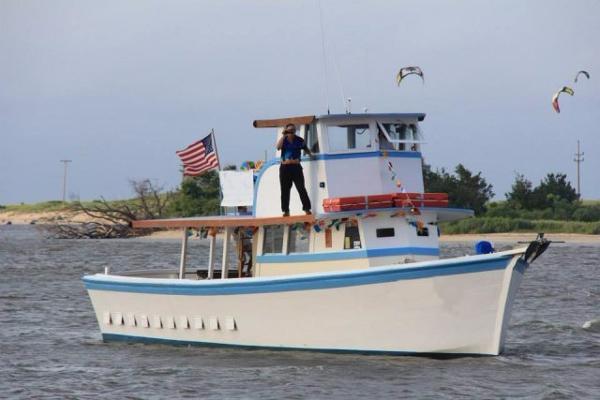 1978 54' x 17' x 3.5' Wooden Chesapeake Bay Deadrise  Passenger Vessel / Fishing Charter Vessel