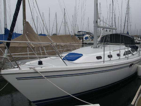 Catalina 34 MkII Port view