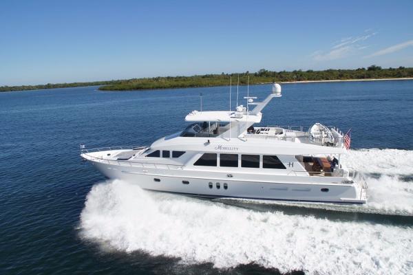 Hargrave 84 Fly Bridge Motor Yacht