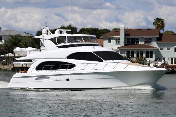 Hatteras 64 Motor Yacht 64MY 2007 by Hatteras - High on the Hog
