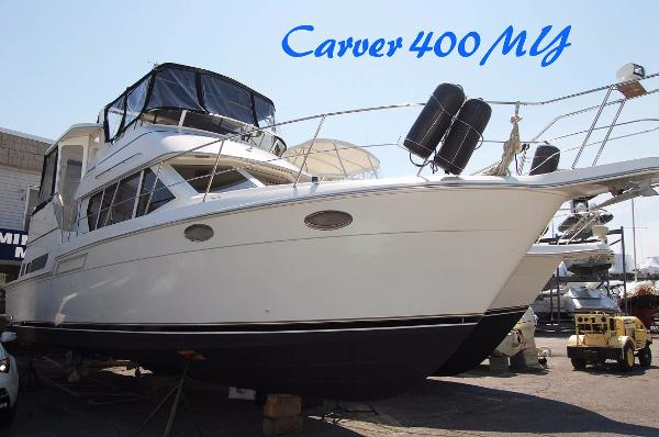 Carver 400 Cockpit Motor Yacht