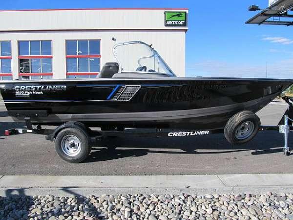2017 Crestliner 1750 Fish Hawk WT, Idaho Falls Idaho ...