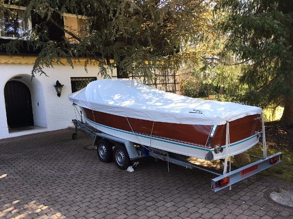 Tullio Abbate Villa d'este Super 6.3 On trailer