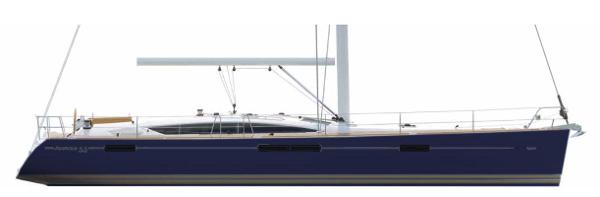 Jeanneau 53 Navy Blue Hull