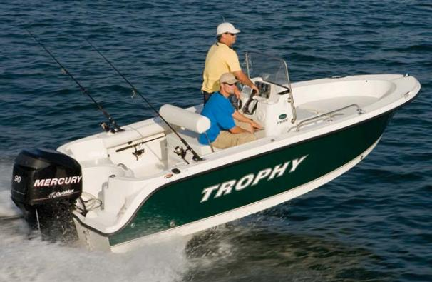 Trophy 1703 Center Console Manufacturer Provided Image