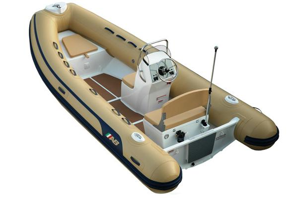 Ab Inflatables Alumina 15 ALX Note: Boat shown with optional color choice tubes.