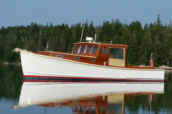Bunker and Ellis Downeast Lobster Yacht