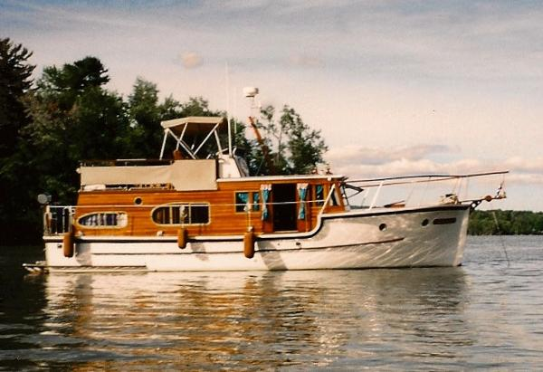 Custom Houde and Bergeron 37 Trawler