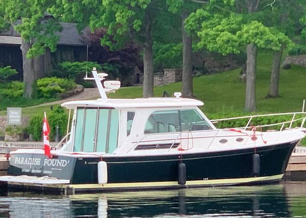 Back Cove 37 Starboard Profile