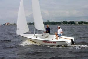 Precision 185 Under Sail 1