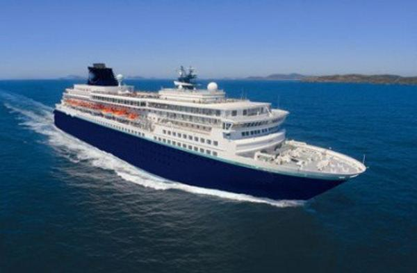 Modern Cruise Ship, 1,800 Passengers -Stock No. S2420