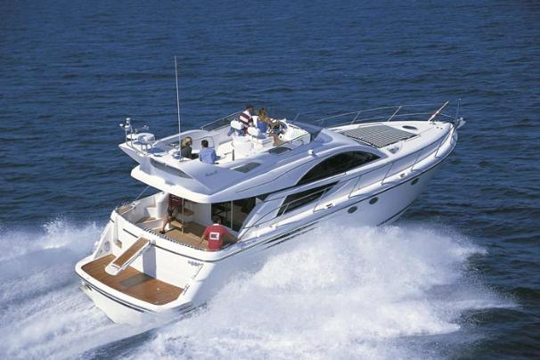 Fairline Phantom 50 Manufacturer Provided Image: Starboard Quarter View