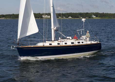 Tartan 3700 CCR Sistership Sailing