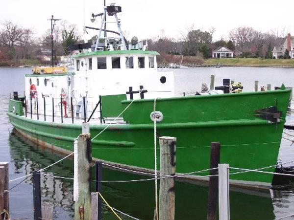 65' US Army T Boat For Sale