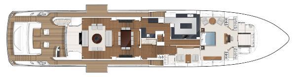 Princess M Class 40M Main Deck Layout