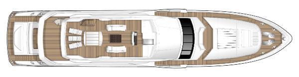 Princess M Class 40M Sundeck Layout