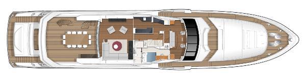 Princess M Class 40M Upper Deck Layout