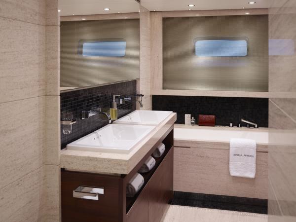 Princess M Class 40M VIP Guest Cabin Bathroom