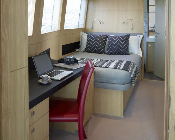 Princess M Class 40M Captain's Cabin
