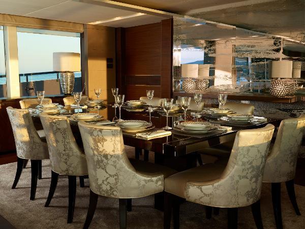 Princess M Class 40M Dining Area