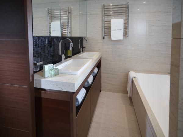 Princess M Class 40M Forward Guest Cabin Bathroom