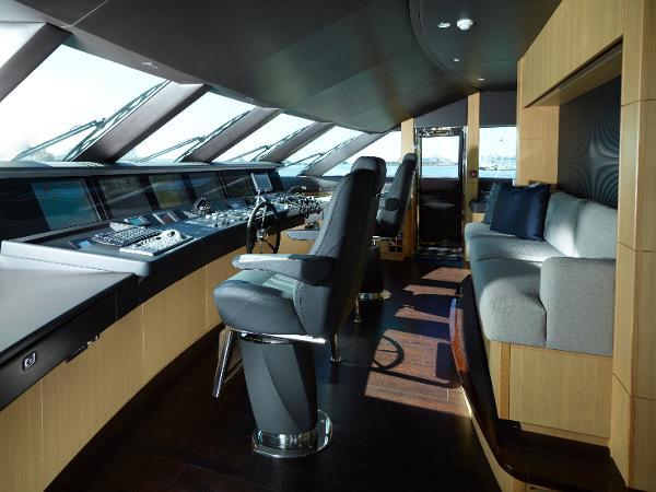Princess M Class 40M Wheelhouse