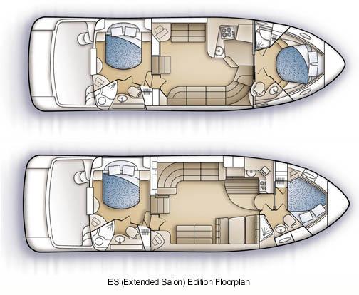 Carver 444 Cockpit Motor Yacht Manufacturer Provided Image