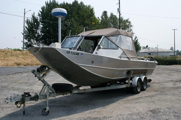 Wooldridge Jet Boat