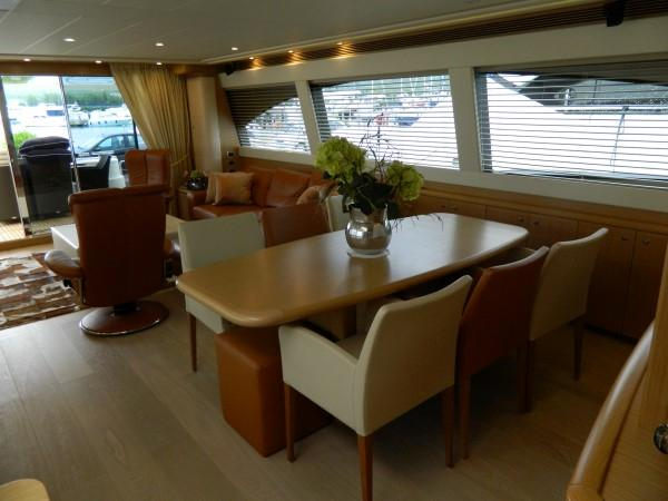 Dining area - facing aft